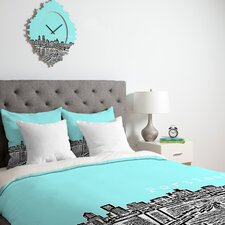 <strong>DENY Designs</strong> Bird Ave Portland Duvet Cover Collection