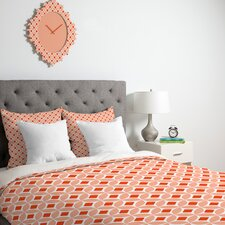 <strong>DENY Designs</strong> Caroline Okun Persimmon Duvet Cover Collection