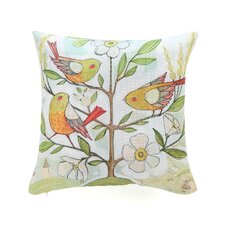 Cori Dantini Community Tree Woven Polyester Throw Pillow