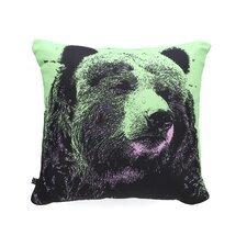 Romi Vega Bear Polyester Throw Pillow