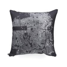 CityFabric Inc San Francisco Woven Polyester Throw Pillow