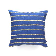 Social Proper Nautical Sparkle Polyester Throw Pillow