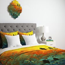 <strong>DENY Designs</strong> Madart Inc. Birds Of A Feather Duvet Cover Collection