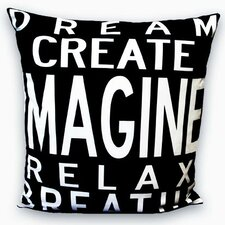 <strong>Uptown Artworks</strong> Imagine Pillow