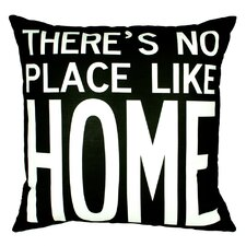 <strong>Uptown Artworks</strong> No Place Like Home Pillow