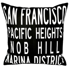 <strong>Uptown Artworks</strong> San Francisco Pillow
