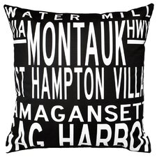 <strong>Uptown Artworks</strong> Hamptons 5 Line Pillow
