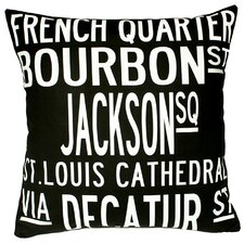 <strong>Uptown Artworks</strong> New Orleans Pillow