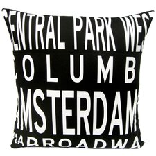 <strong>Uptown Artworks</strong> Upper West Side-NY Pillow