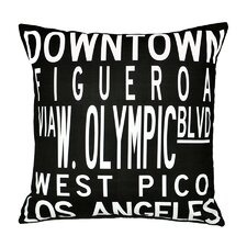 Dowtown LA Pillow
