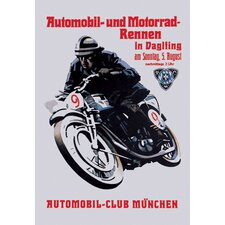 <strong>Buyenlarge</strong> Automobile and Motorcycle Race Munich Canvas Art