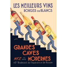 Meilleurs Vins by Wilquin Vintage Advertisement on Canvas