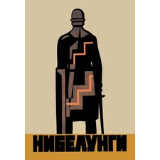 <strong>Buyenlarge</strong> Medieval Soldier (Soviet Poster) Canvas Art