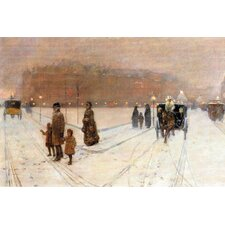 Urban Fairy Tale by Frederick Childe Hassam Painting Print on Canvas