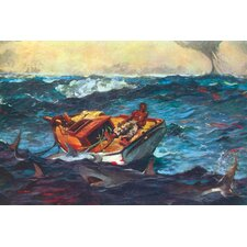 Storm by Winslow Homer Painting Print on Canvas