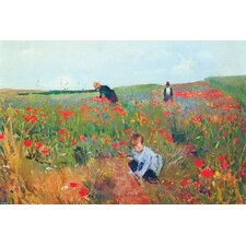 <strong>Buyenlarge</strong> Poppies Canvas Art