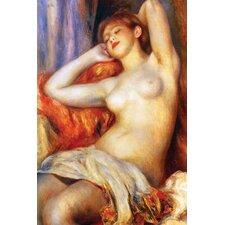 The Sleeping by Pierre - August Renoir Painting Print n Canvas