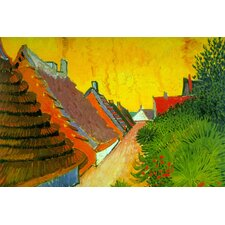 Saintes-Maries Road Through the Town by Vincent Van Gogh Painting Print on Canvas