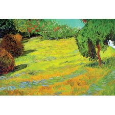 Sunny Lawn by Vincent van Gogh Painting Print on Canvas