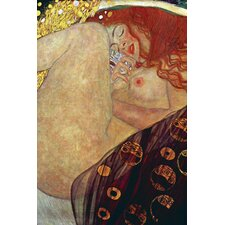 Danae by Gustav Klimt Painting Print on Canvas
