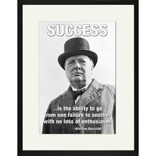 <strong>Buyenlarge</strong> Success is The Ability to Framed and Matted Print