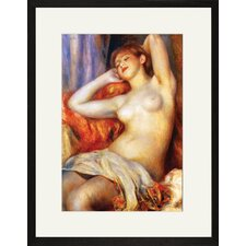 The Sleeping Framed and Matted Print