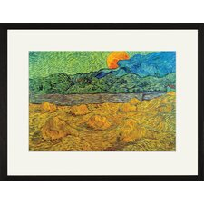 Rising Moon Framed and Matted Print