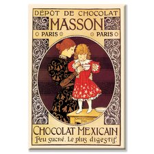 <strong>Buyenlarge</strong> Depot de Chocolat Masson: Chocolat Mexicain Canvas Wall Art