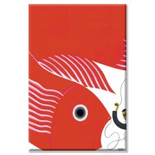<strong>Buyenlarge</strong> The Fish-Kite No Title Canvas Wall Art