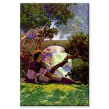 Knave of Hearts in the Meadow by Maxfield Parrish Painting Print on Canvas