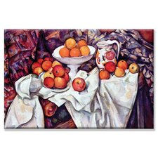 <strong>Buyenlarge</strong> Still Life With Apples & Oranges Canvas Wall Art