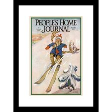 People's Home Journal January 1926 Framed Vintage Advertisement