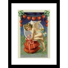 Loving Greeting Framed Painting Print