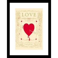 St. Valentine's 1901 Framed Vintage Advertisement