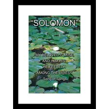 <strong>Buyenlarge</strong> Solomon - Song of Songs Framed and Matted Print