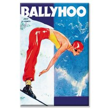 Ballyhoo Canvas Wall Art