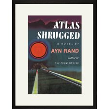 Atlas Shrugged by Ayn Rand Canvas Wall Art