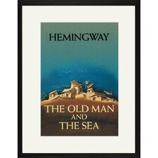 The Old Man and the Sea by Ernest Hemingway Framed Graphic Art
