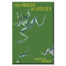 The Origin of Species Graphic Art on Canvas