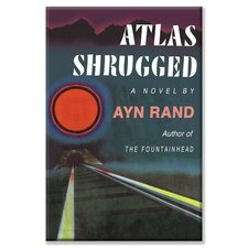 Atlas Shrugged by Ayn Rand Graphic Art on Canvas