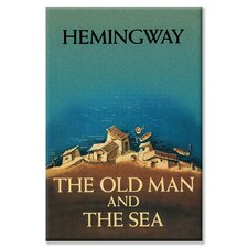 The Old Man and the Sea by Ernest Hemingway Graphic Art on Canvas