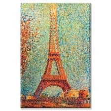 <strong>Buyenlarge</strong> The Eiffel Tower Canvas Wall Art