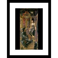 King Cophetua and the Beggar Maid Framed Painting Print