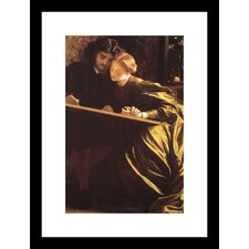 <strong>Buyenlarge</strong> The Painter's Honeymoon Framed and Matted Print