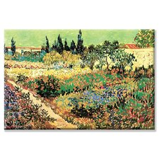 <strong>Buyenlarge</strong> Flowering Garden Canvas Wall Art
