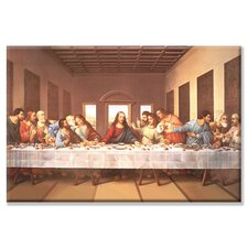 'The Last Supper' Painting Print on Canvas