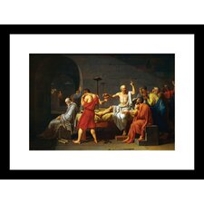 Death of Socrates Framed Painting Print