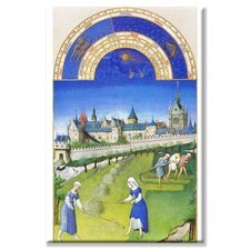 <strong>Buyenlarge</strong> Le Tres Riches Heures du Duc de Berry June Canvas Wall Art