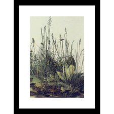 The Large Piece of Grass Framed and Matted Print