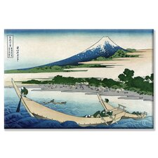 <strong>Buyenlarge</strong> Shore of Tago Bay and Ejiri at Tokaido Canvas Wall Art